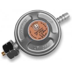 Regulátor tlaku plynu 37mbar, 1,5kg/h s bezpečnostním ventilem RG A310IE, s trnem