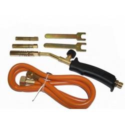 Plynový pájecí hořák PB + 3 koncovky MAR-POL