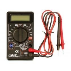 Multimetr digitální, s akustickou signalizací, EXTOL CRAFT