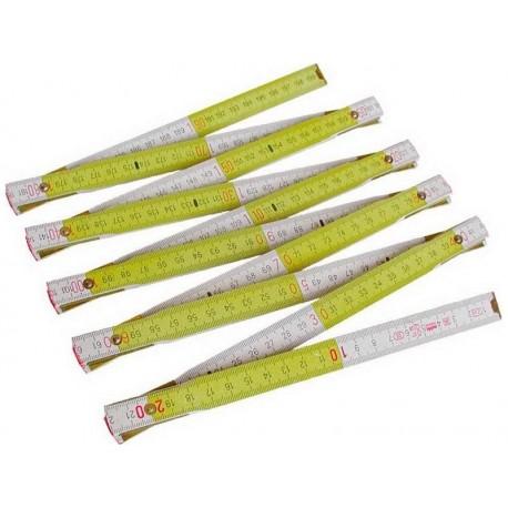 Metr skládací dřevěný METRIE, 1m