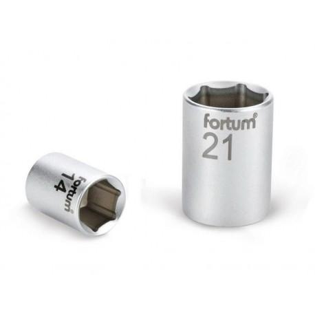 Klíč nástrčný, 1/2', 24,0mm, L 38mm, 61CrV5, FORTUM