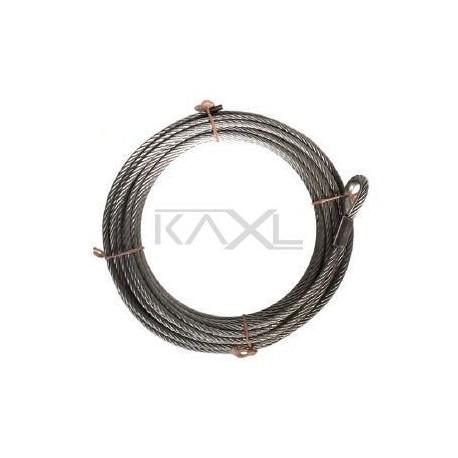 Lanová dráha - ocelové lano 25 m, průměr 10 mm