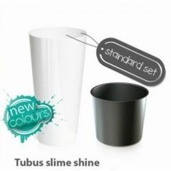Plastový květináč 15,5L TUBUS SLIME SHINE