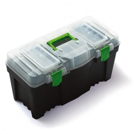 """Plastový kufr, box na nářadí 22"""" GREENBOX"""