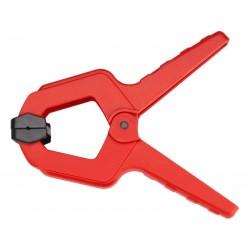 Svorka pružinová plastová, 85mm, max. rozevření čelistí 38mm, EXTOL PREMIUM