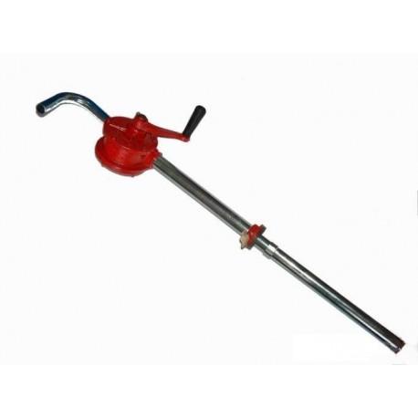 Ruční pumpa na olej a naftu, čerpadlo, červená MAR-POL