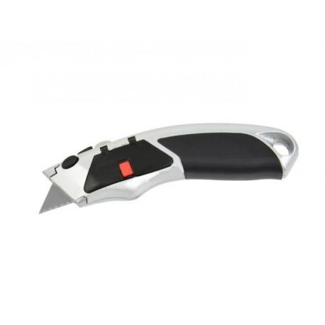 Nůž kovový s výměnným břitem, 4ks náhradních břitů, GEKO