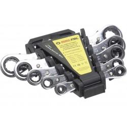 Ploché ráčnové klíče 5ks 6-22mm MAR-POL