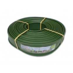 Obruba záhonů, ztracený obrubník, zelená 18m x 12,5cm