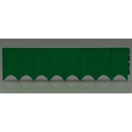 Plastový zahradní obrubník 5,9m, 160mm GARDEN FENCE (různé barvy)