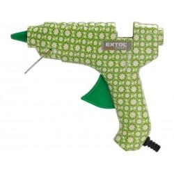 Pistole tavná lepící, květinová, 40W, 11mm, EXTOL CRAFT
