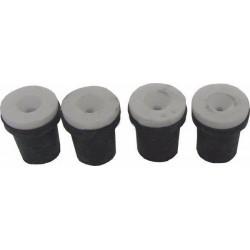 Náhradní trysky 4ks k pískovačce 2mm, 2,5mm, 3mm, 3,5mm GEKO