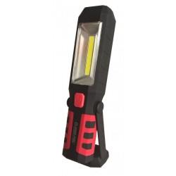 Aku LED pracovní svítilna 3W, 12V, 230V MAR-POL
