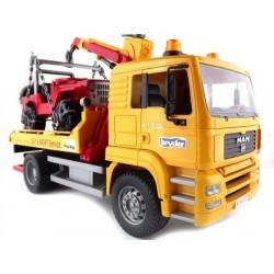 Odtahový vůz MAN TGA + Jeep 02750 BRUDER