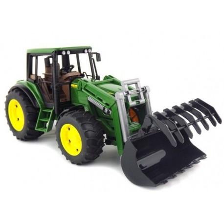 Traktor John Deere 6920 s čelním nakladačem 02052 BRUDER