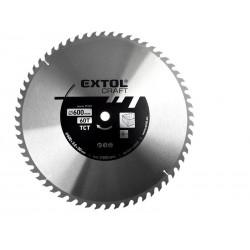 Kotouč pilový s SK plátky, 600x3,0x30mm EXTOL CRAFT