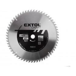 Kotouč pilový s SK plátky, 400x2,5x30mm EXTOL CRAFT