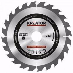 KRT020418 - Pilový kotouč na dřevo 200mm, 24T KREATOR