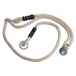 Sada lan k houpačce z pneumatiky - zavěšená svisle - PH 1,6m